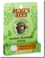 Burt Bees Herbal Blemish Stick